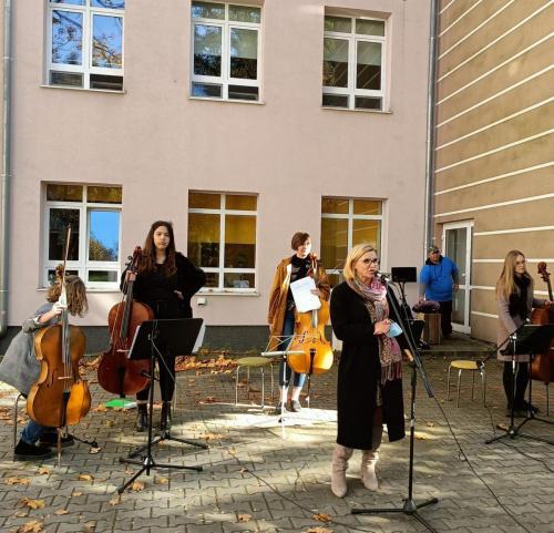 Występ zespołu wiolonczelowego Cellofuny z Olsztyńskiej Filharmonii5